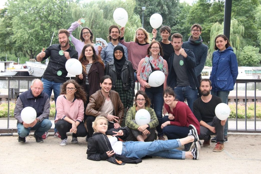 Das GoVolunteer-Team // HIMBEER