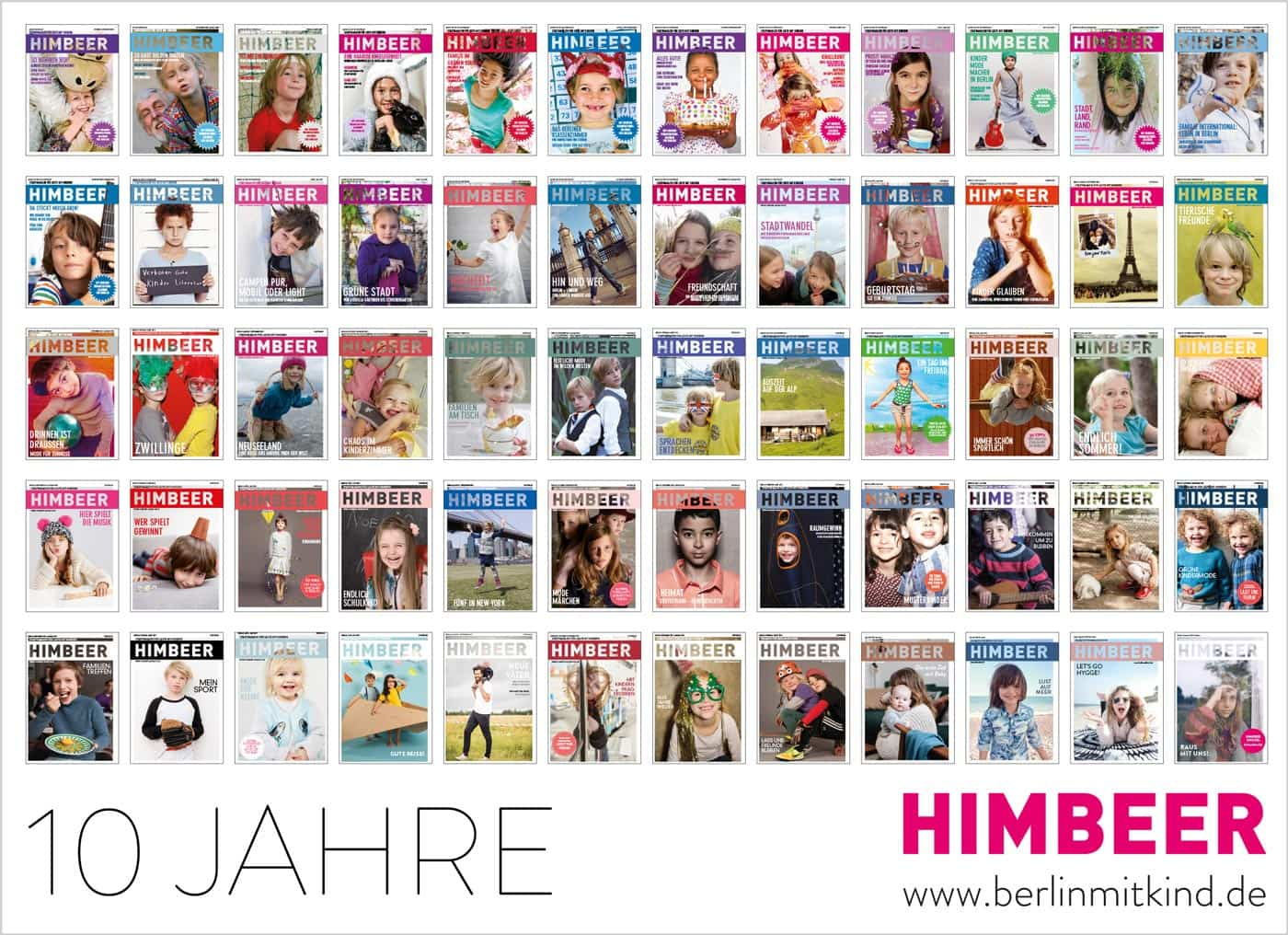 HIMBEER Magazin 10 Jahre Berlin Verlag