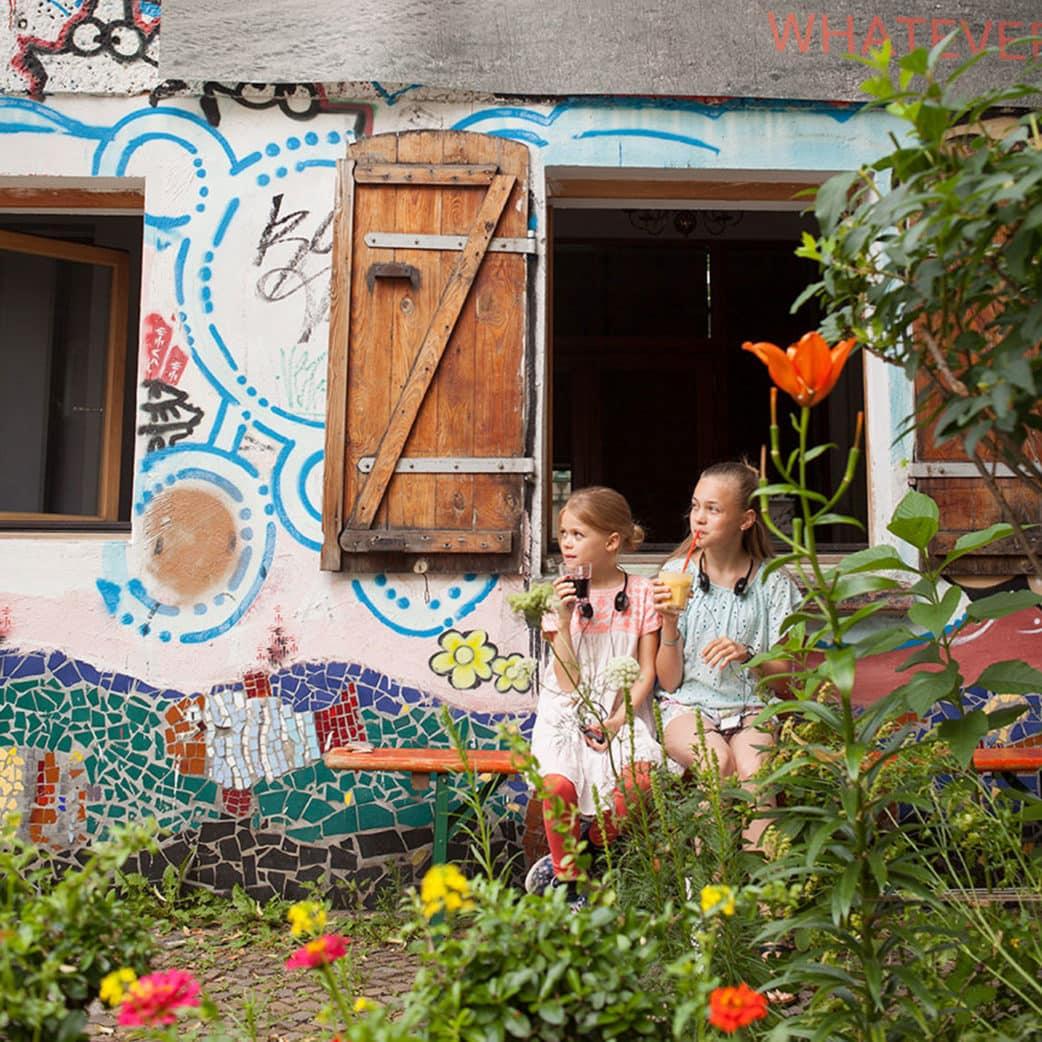 Kinderfreundliche Stadtführungen in Berlin: Audiotour durch Berlin-Prenzlauer Berg mit Kindern // HIMBEER