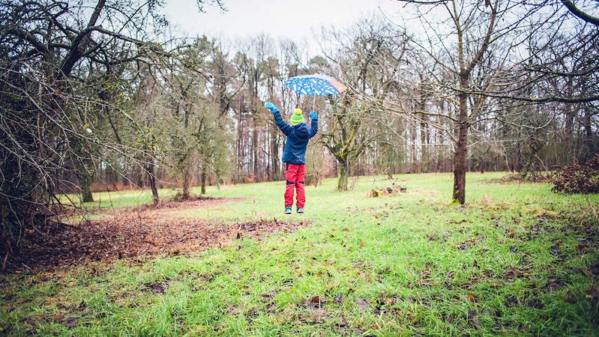 In Berlin mit Kind in die Natur im Umland im Herbst // HIMBEER