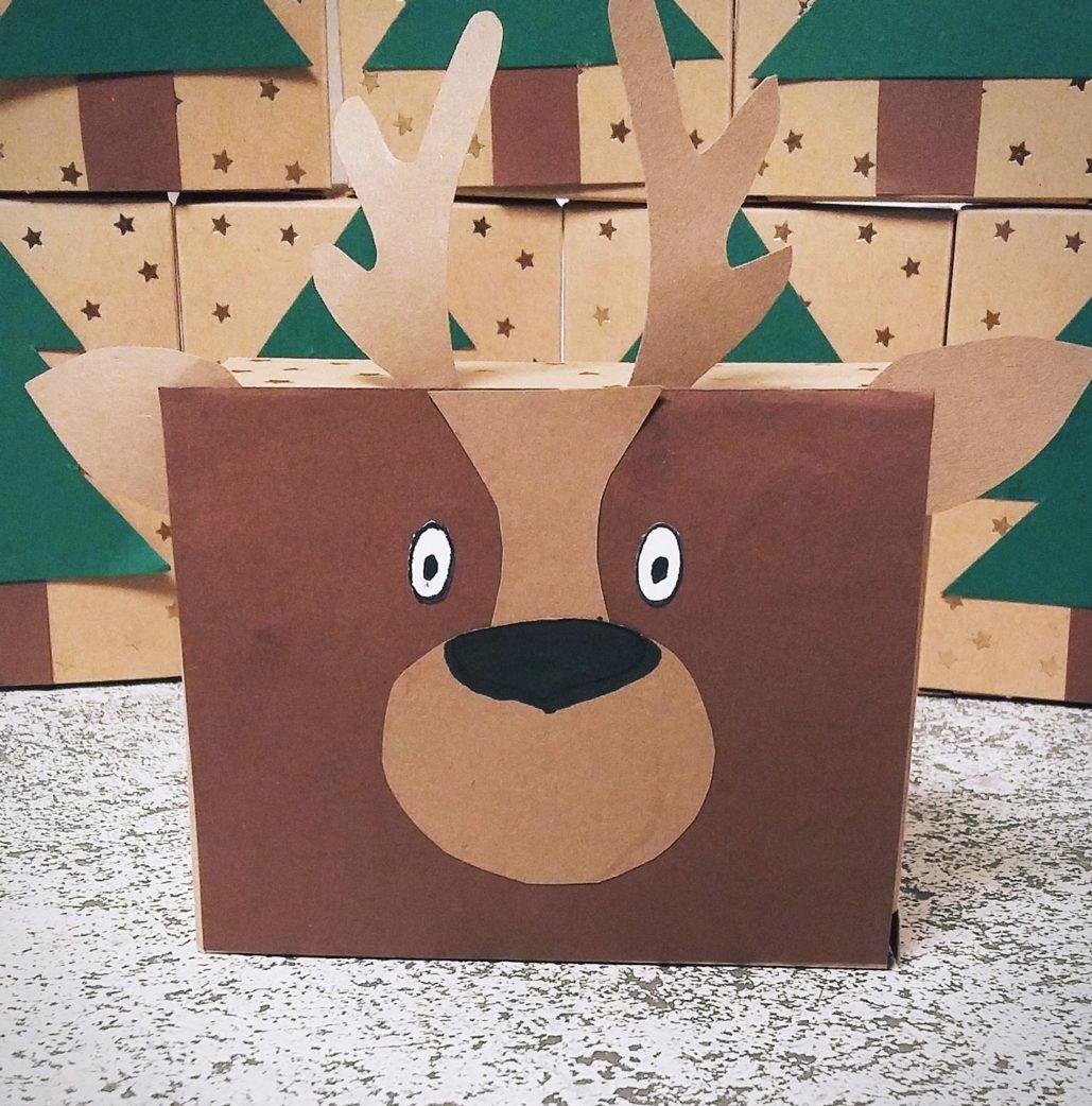 Adventskalender für Kinder zum Selberbasteln – Tiere im Wald // HIMBEER