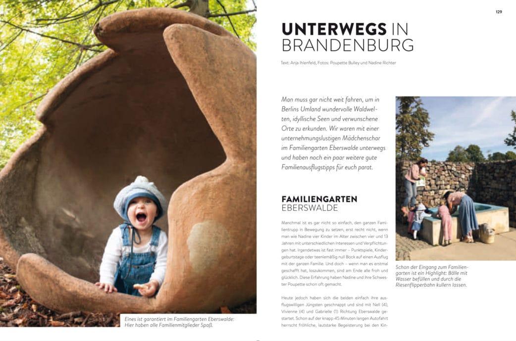 BERLIN MIT KIND 2019 – Der Familien-Freizeit-Guide aus dem HIMBEER Verlag mit den besten Tipps: Ausflüge nach Brandenburg mit Kindern // HIMBEER