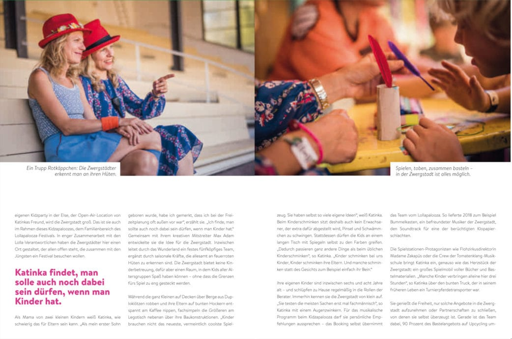 BERLIN MIT KIND 2019 – Der Familien-Freizeit-Guide aus dem HIMBEER Verlag mit den besten Tipps: Zwergstadt Kidspace bei Festivals mit Kindern // HIMBEER
