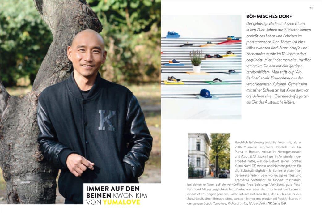 BERLIN MIT KIND 2019 – Der Familien-Freizeit-Guide aus dem HIMBEER Verlag mit den besten Tipps: Kindersneakerladen Yumalove // HIMBEER