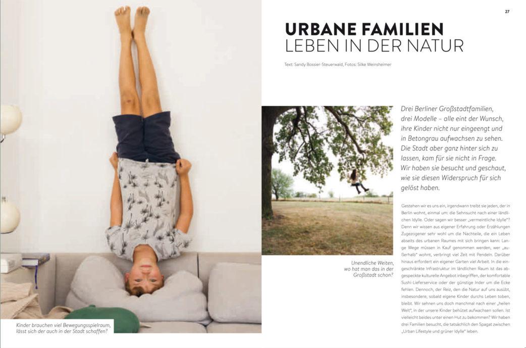 BERLIN MIT KIND 2019 – Der Familien-Freizeit-Guide aus dem HIMBEER Verlag mit den besten Tipps: Urbane Familien und ihre Wohnmodelle // HIMBEER