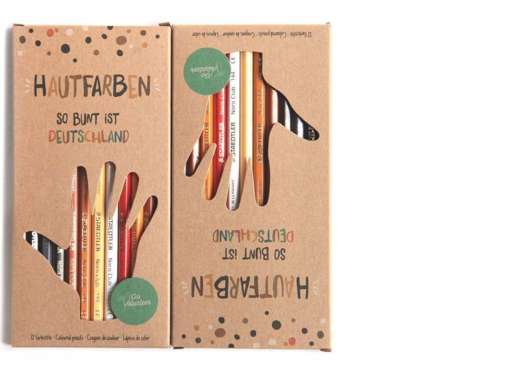 Lieblingssachen: Buntstifte-Hautfarbenset // HIMBEER