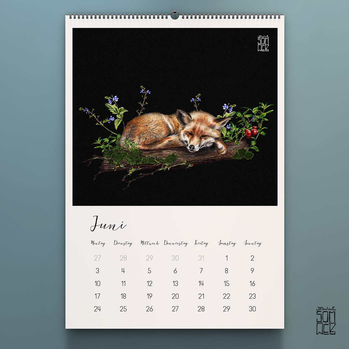 Tierkalender // HIMBEER