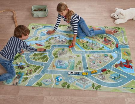 Schönes für Weihnachten: Spielteppich von Happy City Kids // HIMBEER