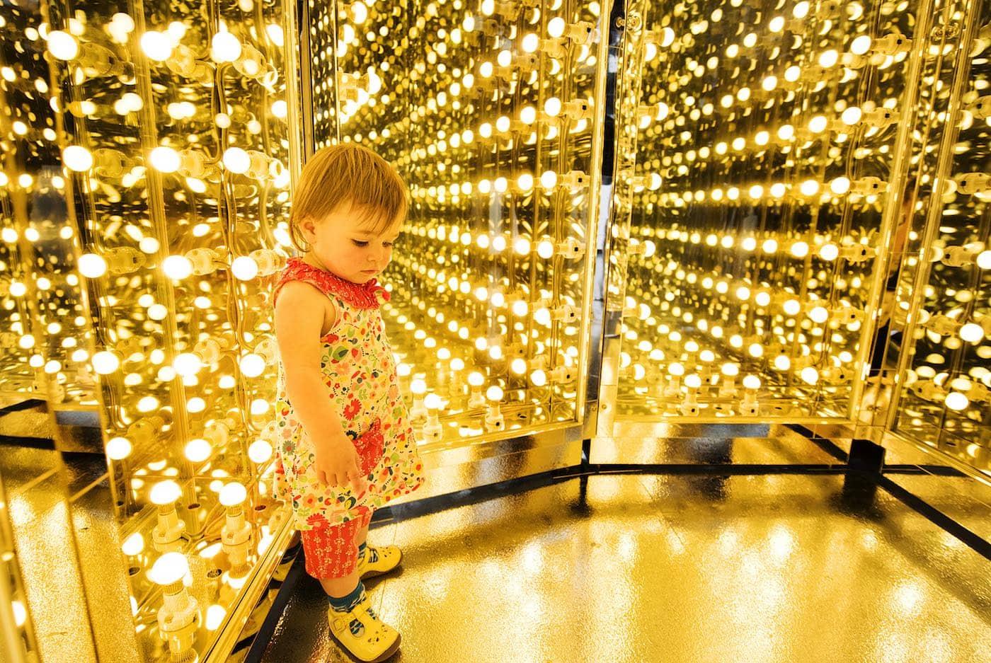 In Berlin mit Kind in die Ausstellung von Lee Bul // HIMBEER