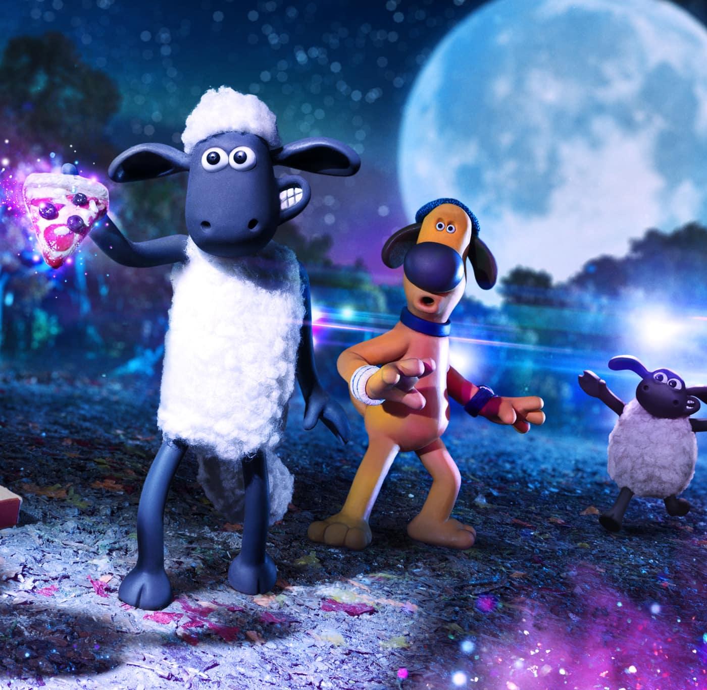 Kinderkinofilm: Shaun das Schaf – Ufo-Alarm // HIMBEER