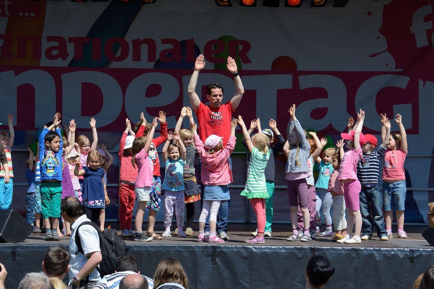 Kindertagsfest FEZ // HIMBEER