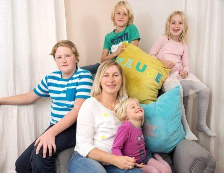 fabfabstickers, portrait, 7 Fragen an, Familie, vier Kinder // München mit Kind
