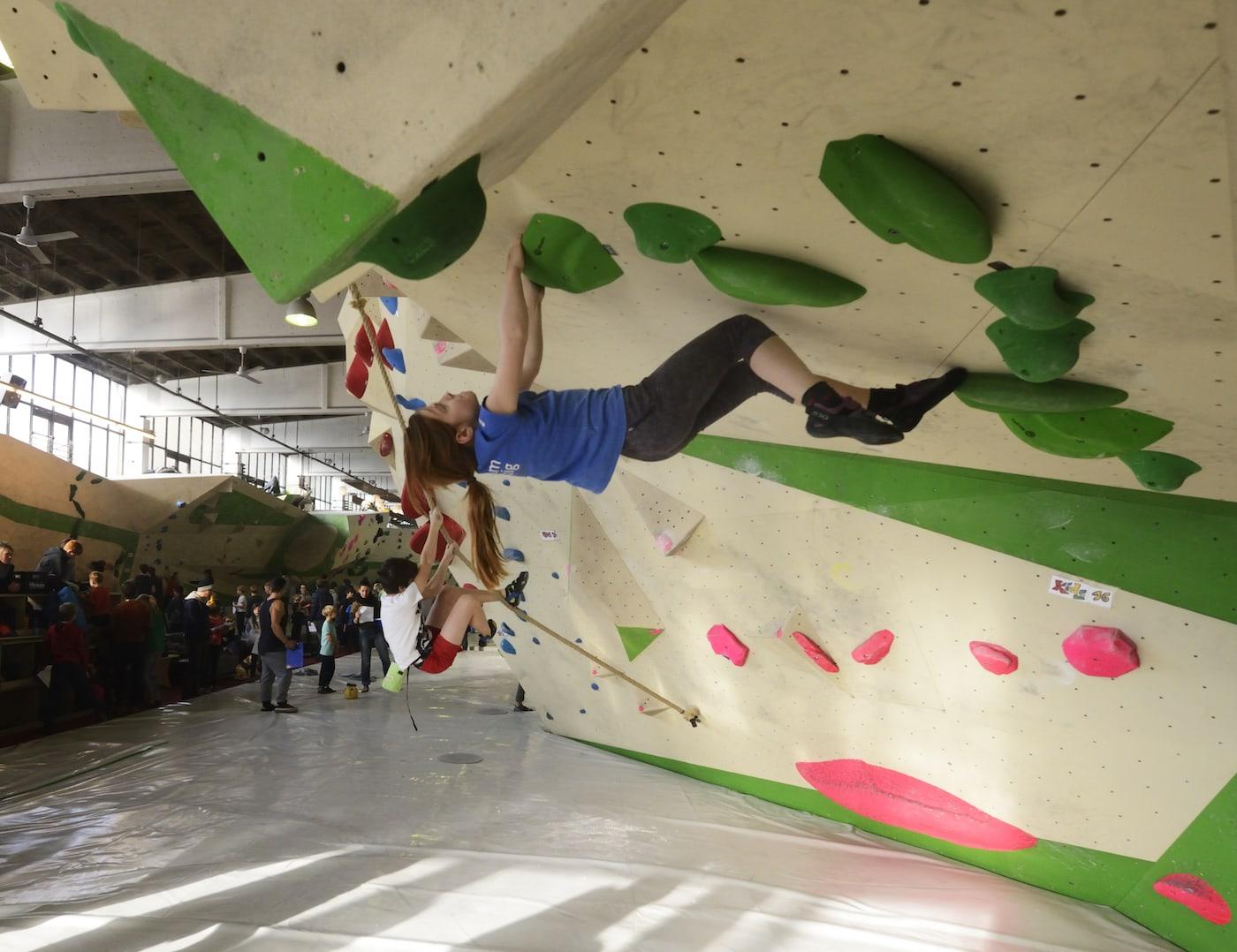 Kinderfreundliche Kletterhallen für Familien mit Kindern in Berlin // HIMBEER