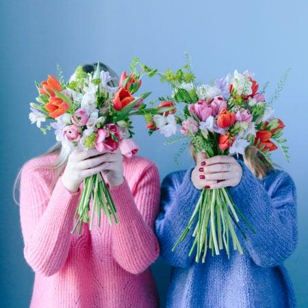 Blumen mit Bloom & Wild zum Valentinstag verschenken // HIMBEER