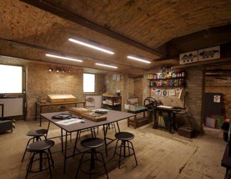 Workshops für Kinder in der Druckwerkstatt von Krumulus // HIMBEER