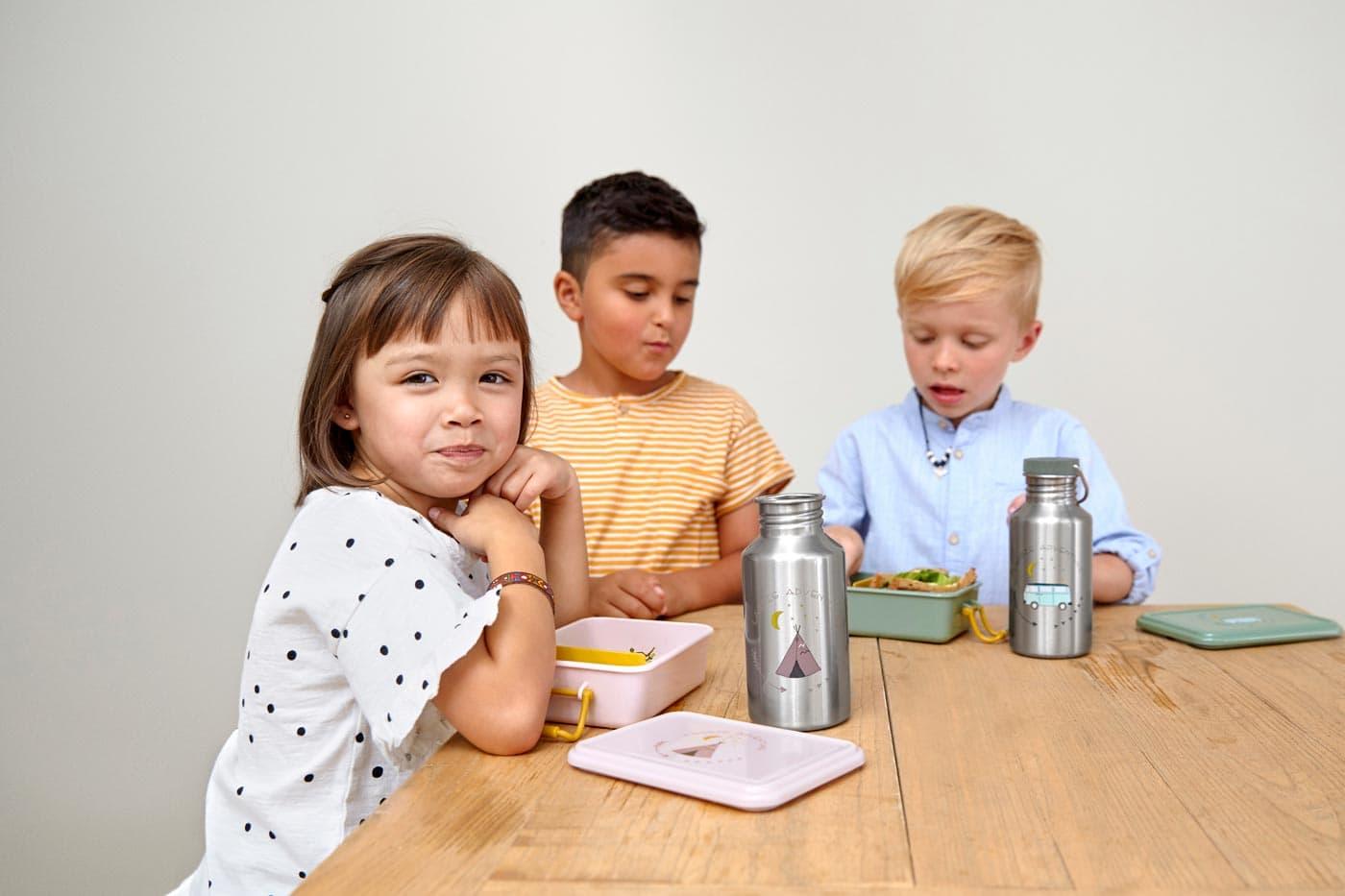 Kindertrinkflaschen von Lässig // HIMBEER