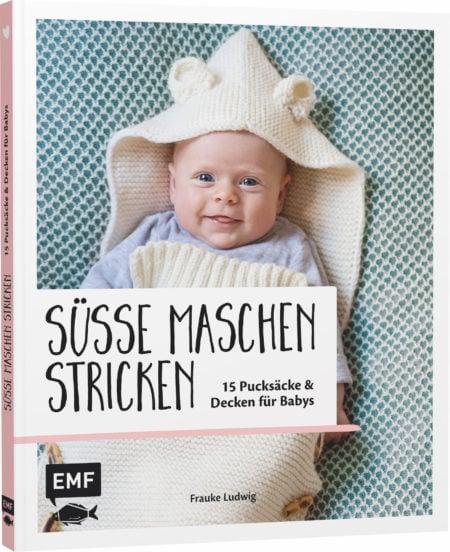 gemütliche Babydecke stricken // HIMBEER