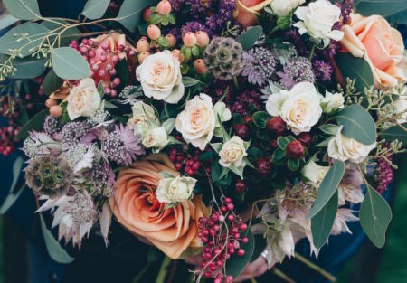Blumenstrauß // HIMBEER