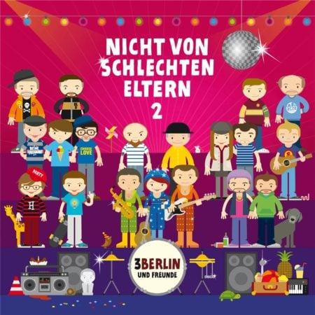 CD Cover Nicht von schlechten Eltern // HIMBEER