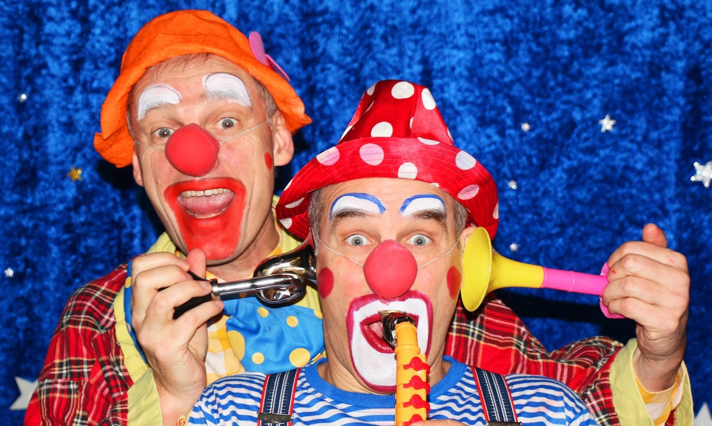 Clowns-Theater für Kinder in Berlin // HIMBEER