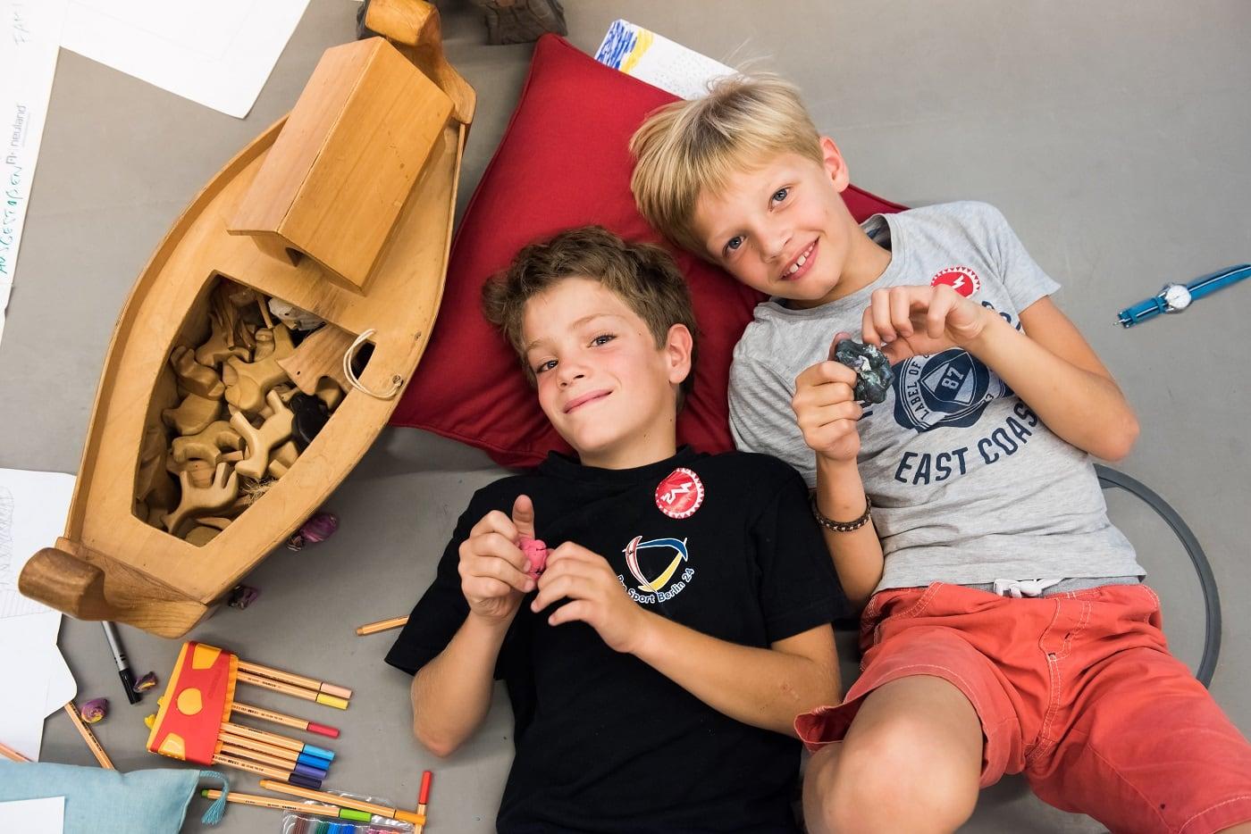 Ferienkurse für Kinder im Jüdischen Museum Berlin