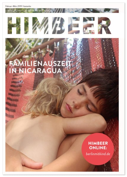 HIMBEER Magazin Berlin mit Kind Februar-März 2019 // HIMBEER