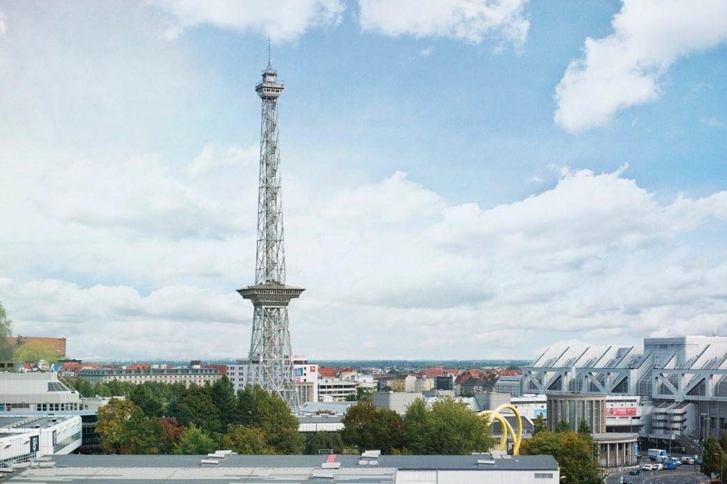 Aussichtspunkte in Berlin – Wo man in Berlin einen guten Ausblick hat: Funkturm Berlin // HIMBEER