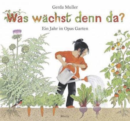 Buchtipp: Kinder-Gartenbuch: Gärtnern in Opas Gemüsegarten // HIMBEER