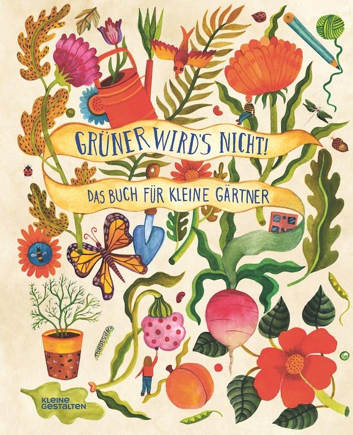 Buchtipp: Kinder-Gartenbücher: Gärtnern für Kinder // HIMBEER