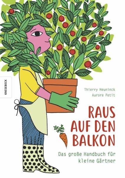 Buchtipp: Kinder-Gartenbuch: Gärtnern auf dem Balkon // HIMBEER