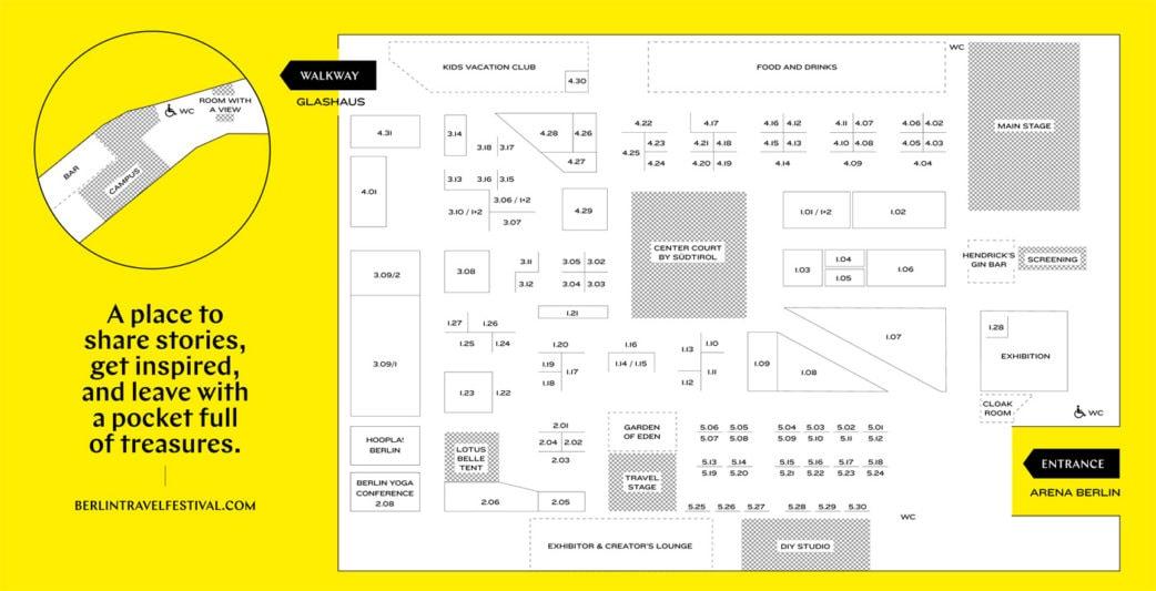 HIMBEER-Talk au Berlin Travel Festival 2019: Floorplan // HIMBEER