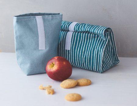 DIY: Lunchbeutel selber nähen, Nähanleitung // HIMBEER