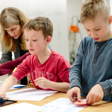 Osterferienkurse für Kinder in den Staatlichen Museen Berlin // HIMBEER