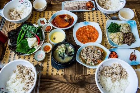 koreanisches Büffet // HIMBEER