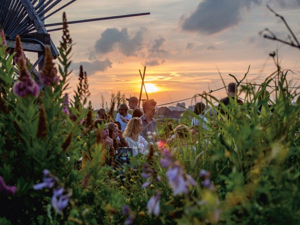 Aussichtspunkte in Berlin – Wo man in Berlin einen guten Ausblick hat: Klunkerkranich Berlin // HIMBEER