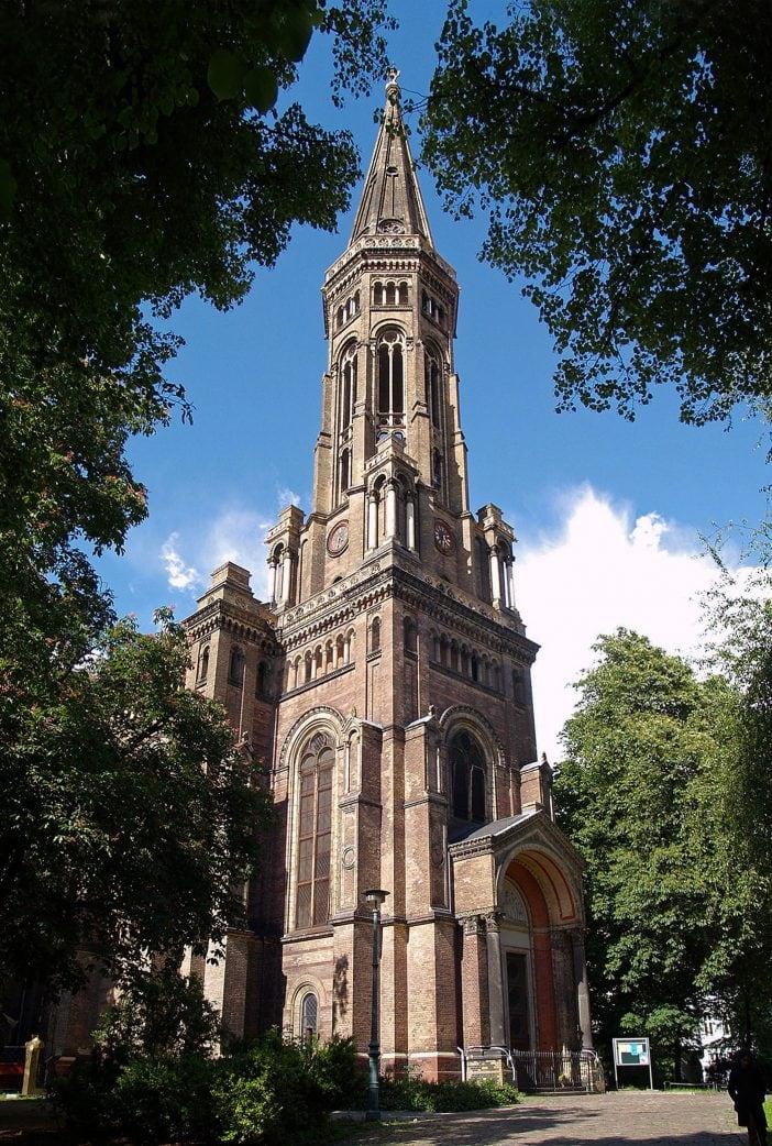 Wo man in Berlin einen guten Ausblick hat: Zionskirche Berlin // HIMBEER
