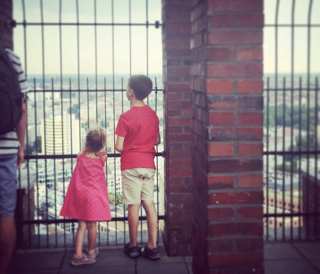 Wo man in Berlin einen guten Ausblick hat: Panoramapunkt Berlin // HIMBEER
