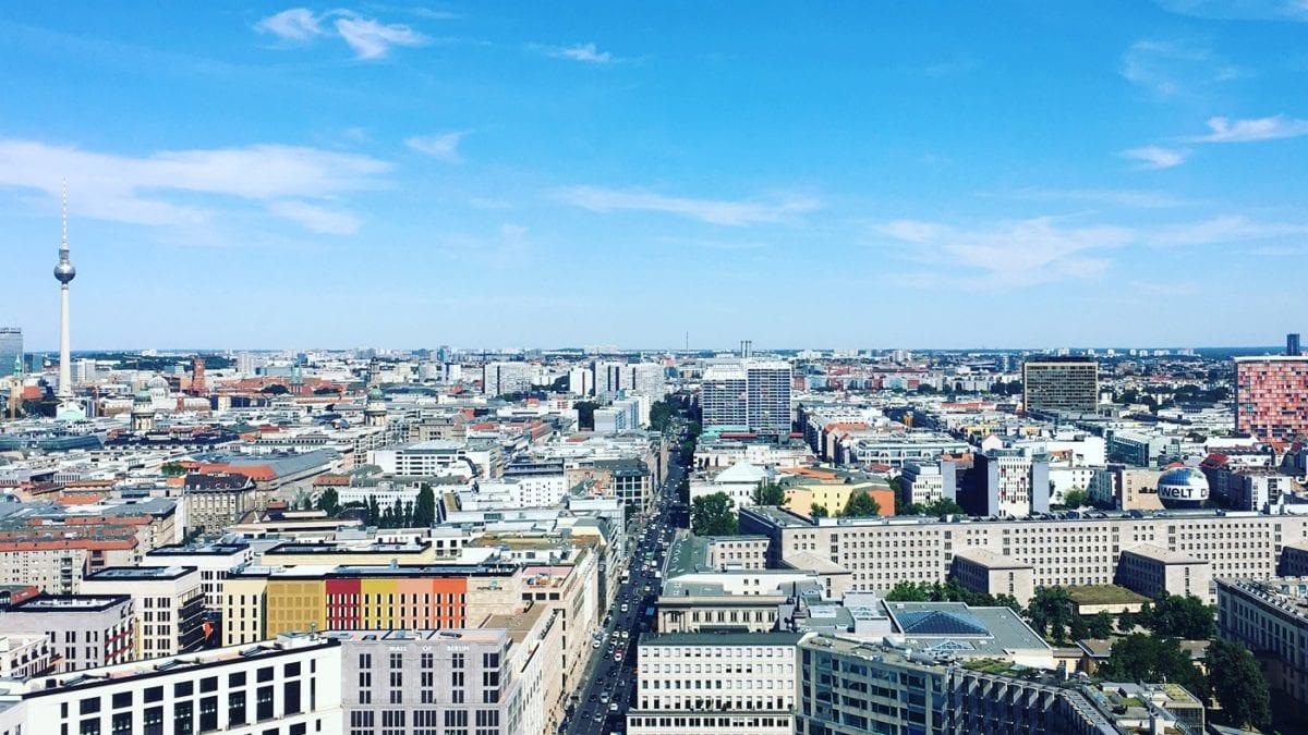 Berliner Aussichtspunkte – Wo man in Berlin einen guten Ausblick hat: Panoramapunkt Berlin // HIMBEER