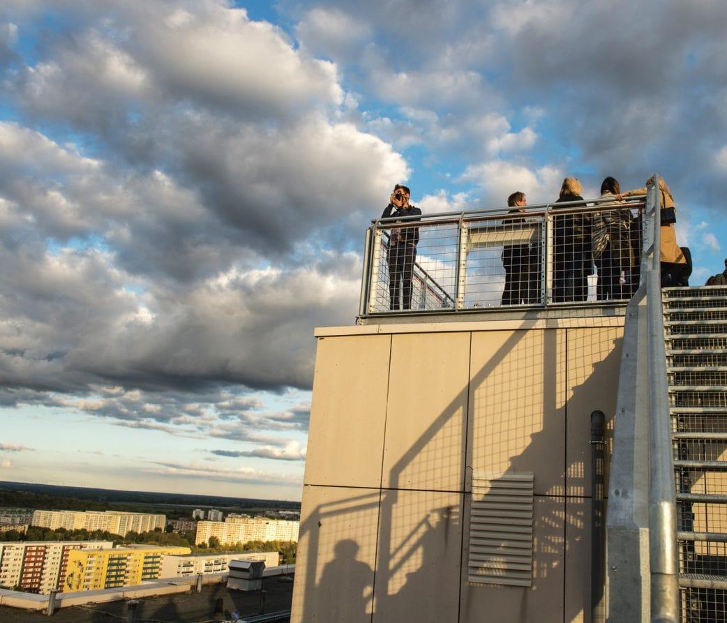 Wo man in Berlin einen guten Ausblick hat: Skywalk Berlin // HIMBEER
