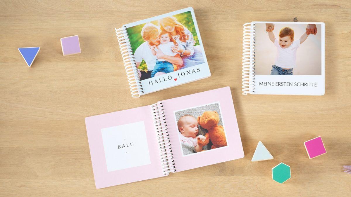 Spielerisch die Welt entdecken mit dem Pixum Fotobuch Baby // HIMBEER