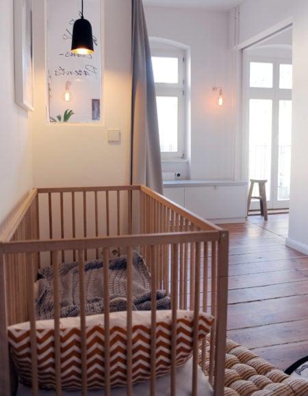 Berliner Innenarchitektin Kinderzimmer Familienwohnung: Judith Simone Wahle // HIMBEER