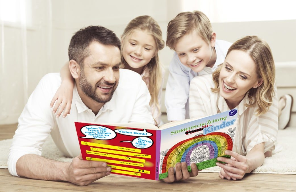 SZ Familie Lesen Kinder // HIMBEER