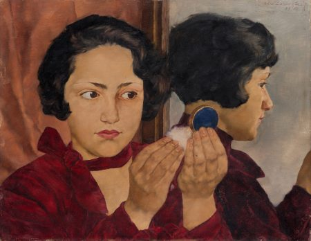 Ausstellungstipp für Familien in Berlin: Lotte Laserstein in der Berlinischen Galerie. Mit Familienführungen und Kinderprogramm // HIMBEER