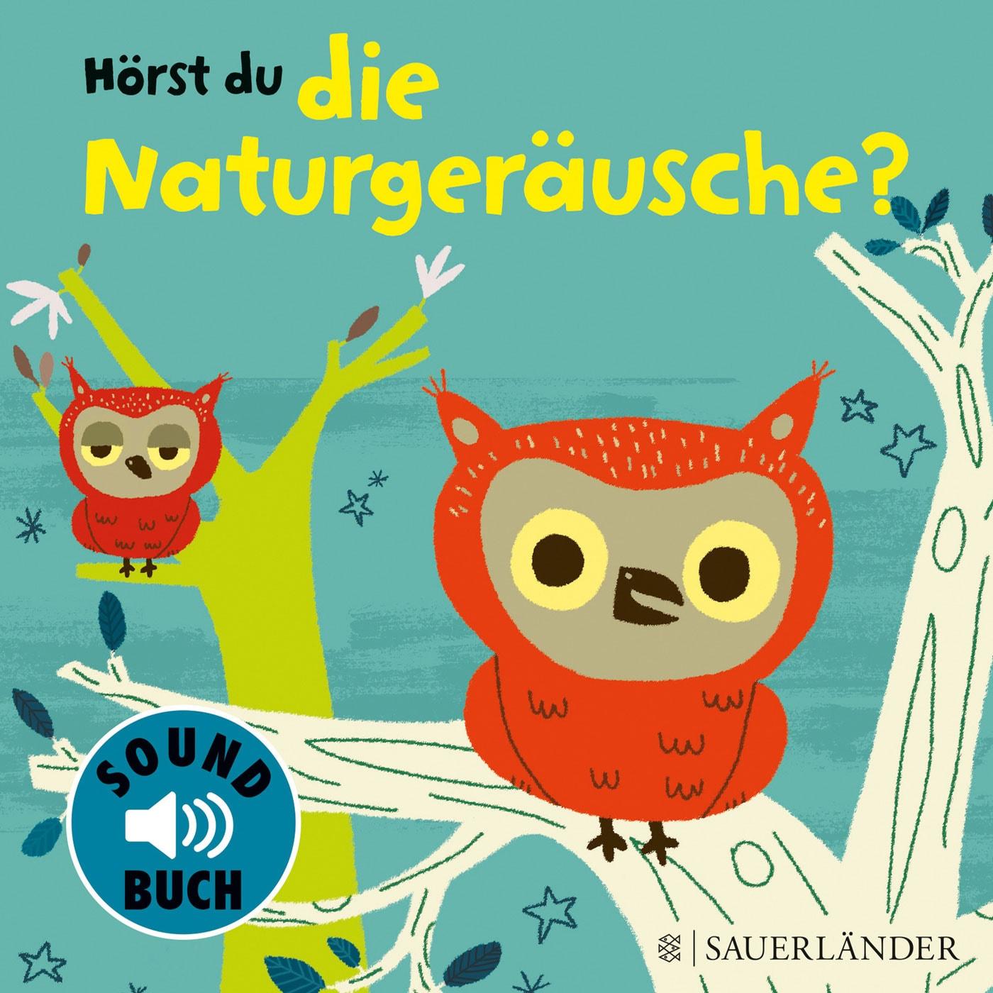 Sound-Buch für Babys und Kleinkinder: Naturgeräusche // HIMBEER