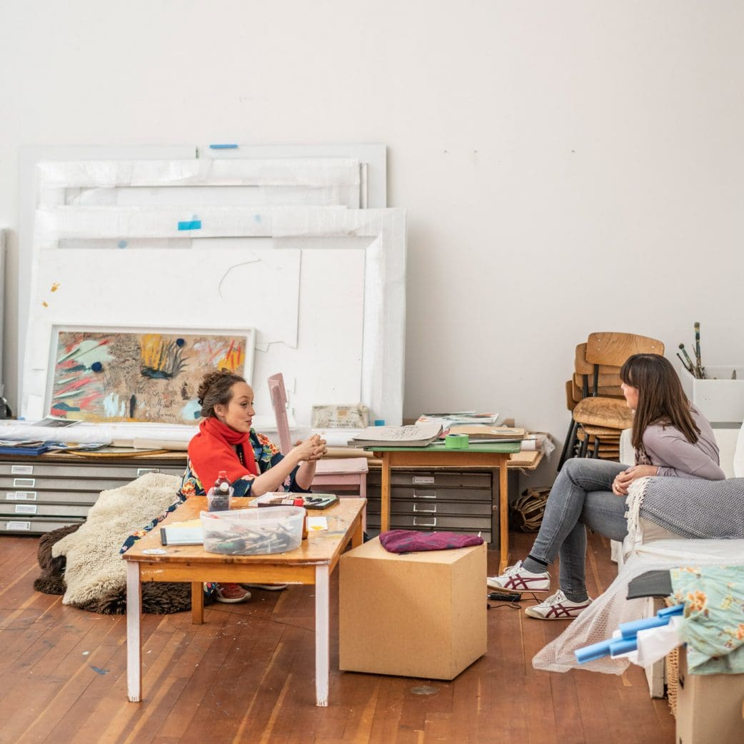 """Stadtgestalten Berlin: Das Kunstprojekt """"KINDER. ZUKUNFT. KUNST. EPHRA. der Berliner Künstlerin Rebecca Raue // HIMBEER"""