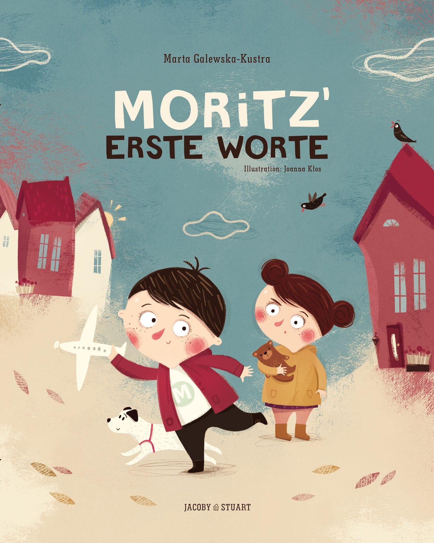 Die besten Bücher für Babys und Kleinkinder: Moritz' erste Worte // HIMBEER