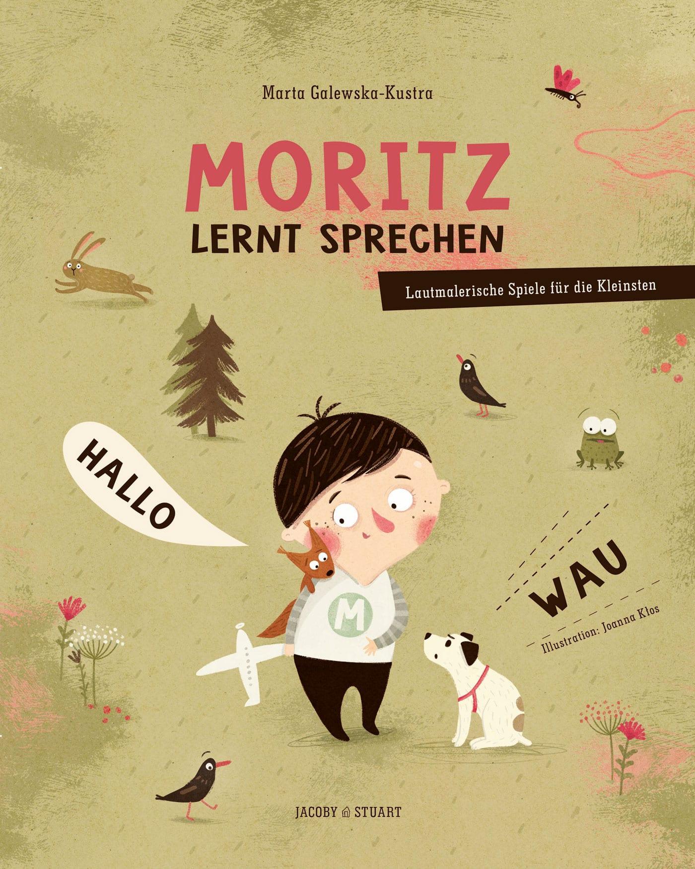 Die besten Bücher für Babys und Kleinkinder: Moritz lernt Sprechen // HIMBEER