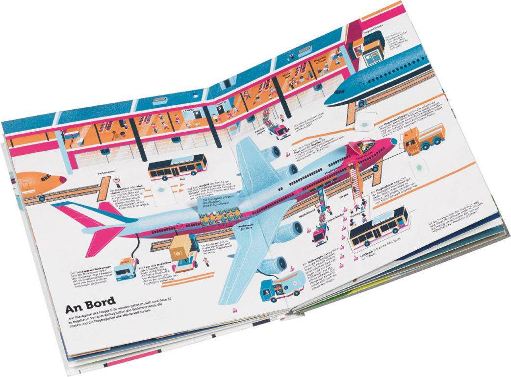 Flugreisen mit Kindern: Bücher über Flugzeuge für Kinder // HIMBEER