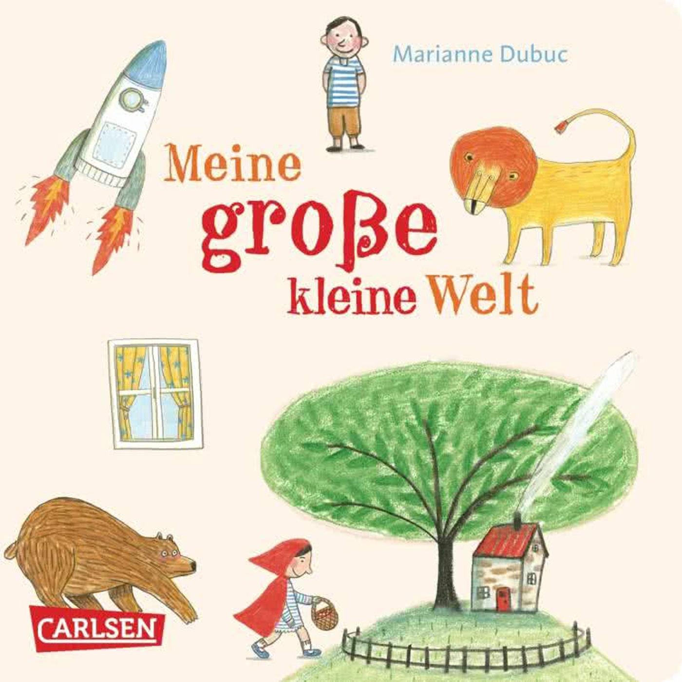 Wunderbares Bilderbuch für die Kleinkinder: Meine große kleine Welt // HIMBEER