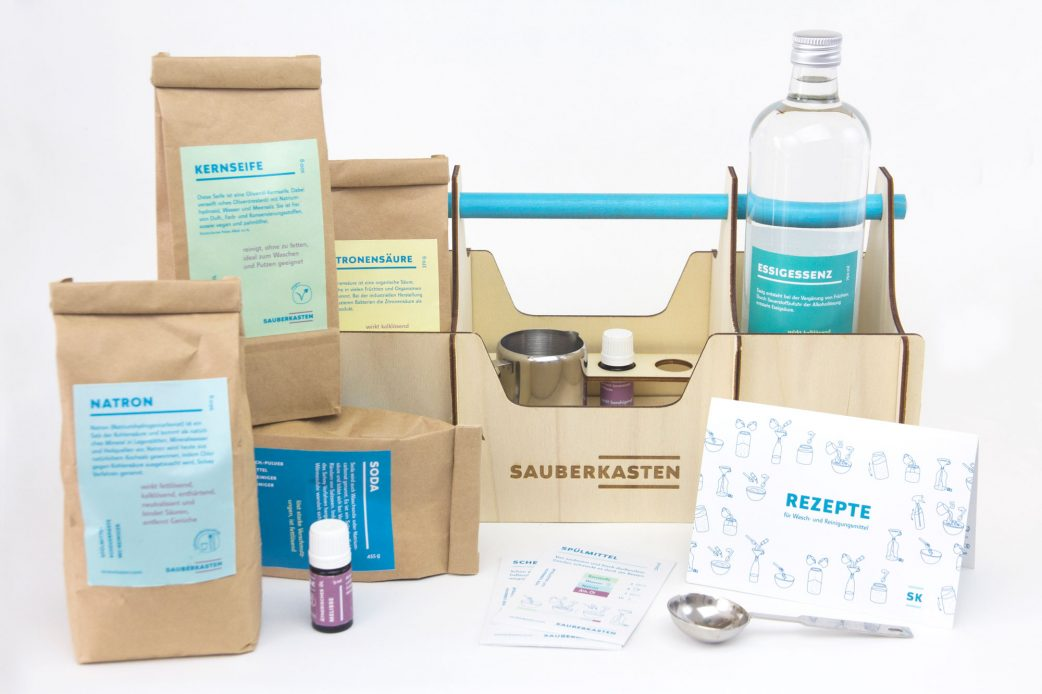 Sauberkasten Klassik Inhalt Make your own cleaning agent // RASPBERRY